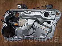 Стеклоподъемник передний правый электрический с колонкой Volkswagen Golf 4 1997-2005 р. SIEMENS 1J1 959 802D