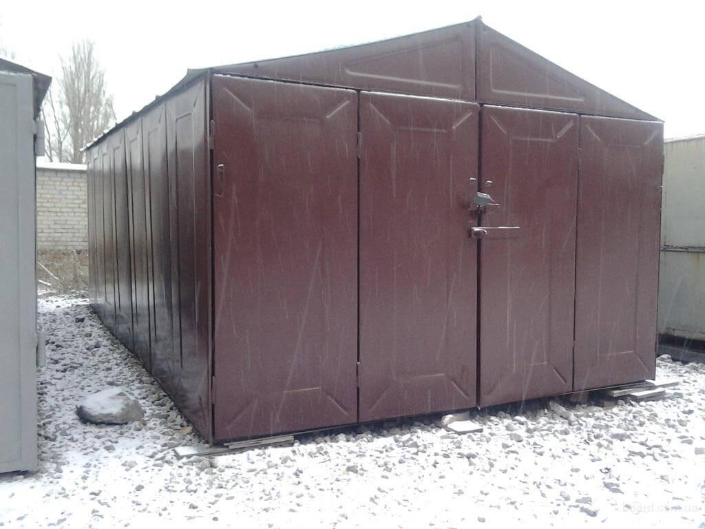 изготовление гаража металлического