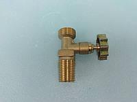 Газовый вентиль (кран)(без сброса давлен ) на туристические баллоны Пикник , Турист под горелку или редуктор .
