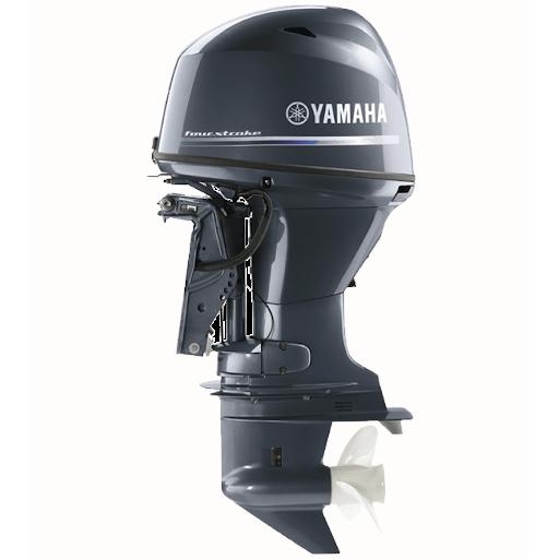 Лодочный мотор  Yamaha F70AETL -  подвесной мотор для яхт и рыбацких лодок