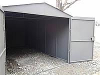 Обшиваем металлический гараж