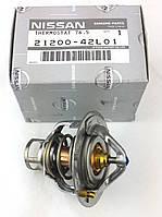 Термостат двигателя Nissan TD27 TD25 TD23, термостат системы охлаждения двигателей Ниссан