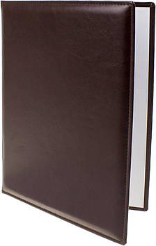 "Папка A4 ""До підпису"" Nebraska т.-коричнева №O36030-43/Optima/(15)"