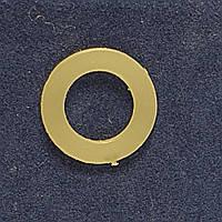 Пластиковое кольцо для Блочки - Люверса 24 Strong 1000 шт 10мм СТРОНГ-0126, КОД: 2363215