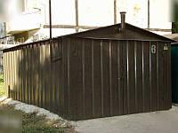 Установить железный гараж