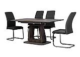 Стол TML-521-1 матовый серый + серый дуб (бесплатная доставка), фото 5