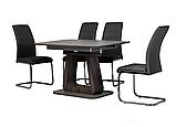 Стол TML-521-1 матовый серый + серый дуб (бесплатная доставка), фото 4