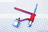 Ролик натяжной приводного ремня ZUBR на мотоблок с двигателем 168F и его аналоги