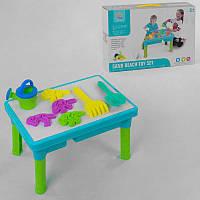 Игровой столик для песка и воды R 399-8 (24) с аксессуарами, в коробке