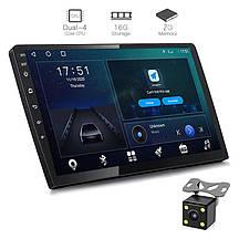 Автомагнитола 2DIN X91 ANDROID 9.1 с экраном 9 дюймов 2/16гб USB BT GPS навигация Wi-fi магнитола магнитофон