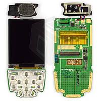 Дисплей для мобильного телефона Samsung E390, с платой, оригинальный