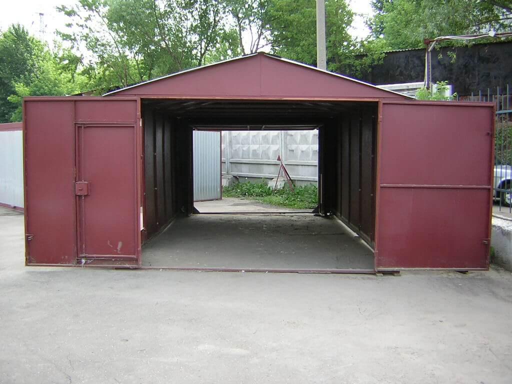 Гаражи металлические изготовление купить гараж макеевка черемушки