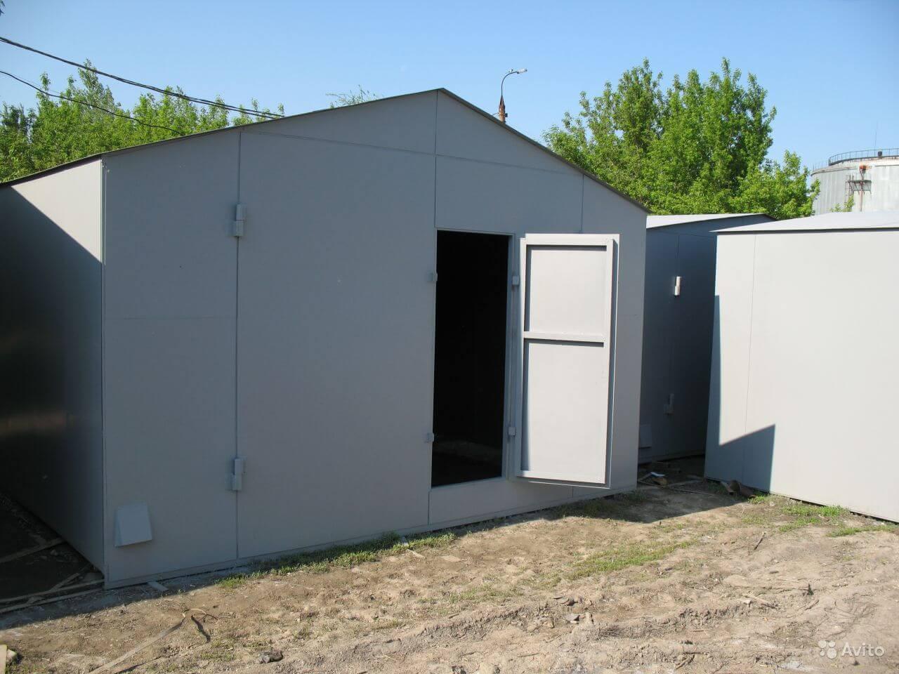 Цены на гараж из железа металлический гараж крыша