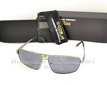 Мужские солнцезащитные очки Porsche Design Polarized с антибликовым покрытием новинка качественная реплика