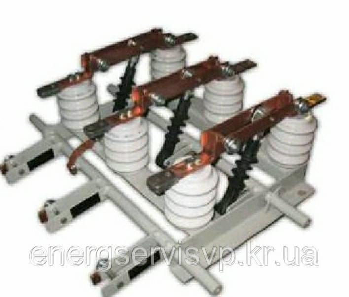 Разъединитель внутренний РВз 10/400 (межфазное расстояние 200мм) производитель
