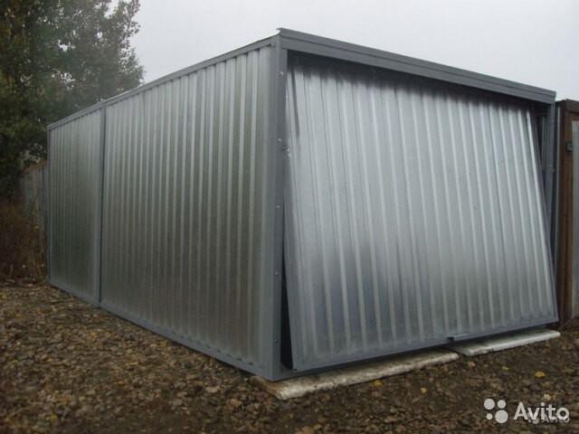 Цена гаража металлического купить гараж в липецке на горького
