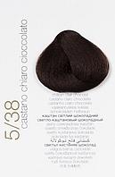КРЕМ-КРАСКА COLORIANNE Prestige № 5/38 (светло-каштановый шоколадный)