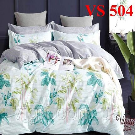 Постельное белье евро комплект, сатин, Вилюта «Viluta» VS 504, фото 2