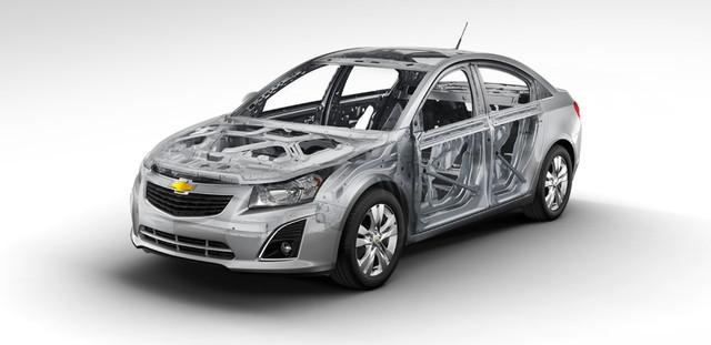 Кузов и экстеръер Шевролет Круз 12- / Chevrolet Cruze 12-