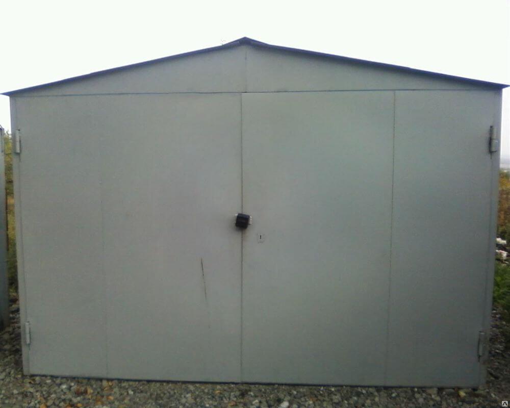 Строим железный гараж гараж пенал купить в зеленограде
