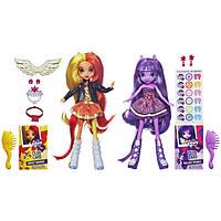 My Little Pony Подарочный набор кукол Sunset Shimmer и Twilight , фото 1