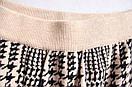 В'язаний костюм жіночий з спідницею зимовий вовняної модний 44/46, фото 6
