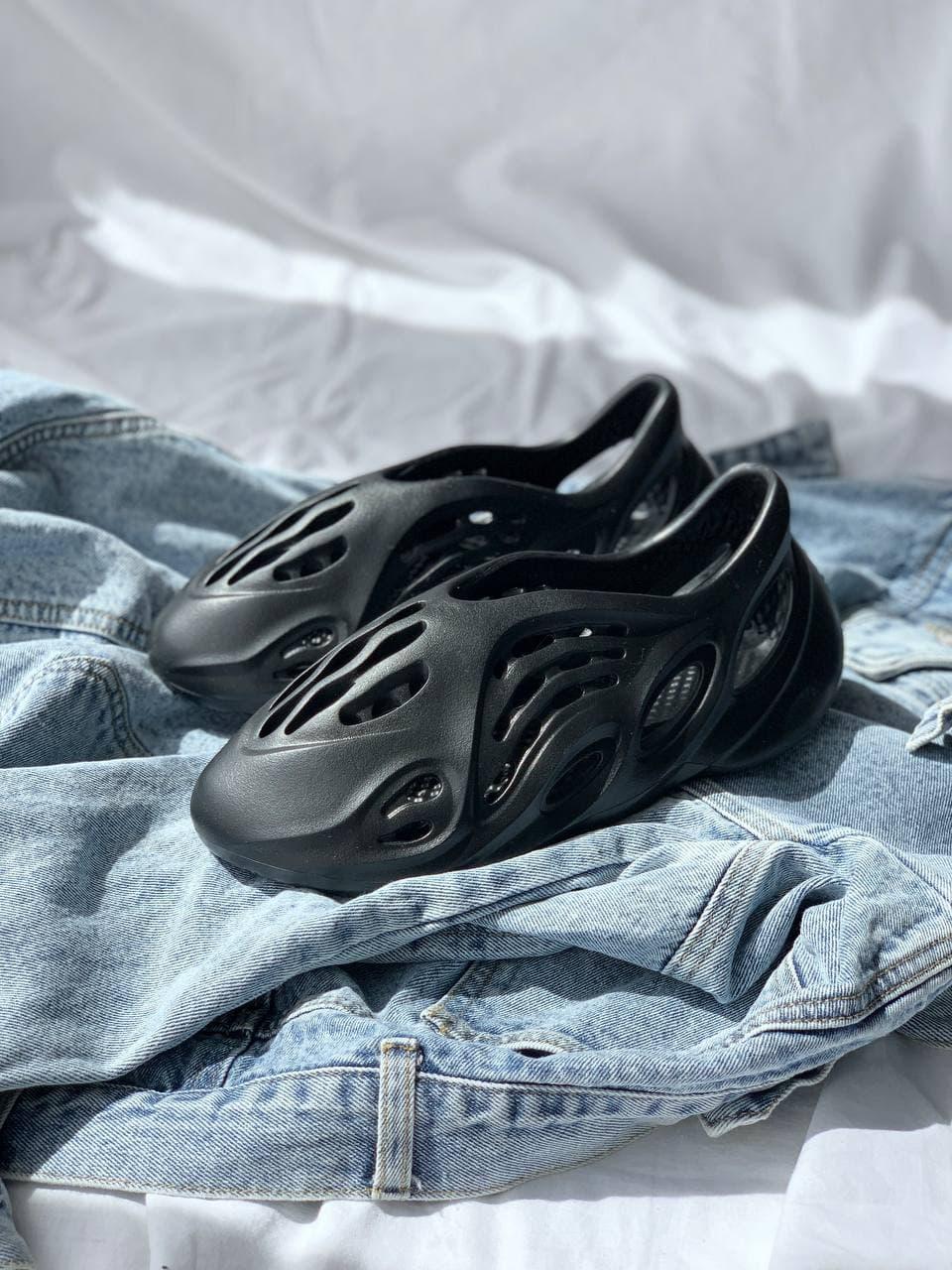 Мужские кроссовки Yeezy Foam Runner Black