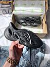 Чоловічі кросівки Yeezy Foam Runner Black, фото 8