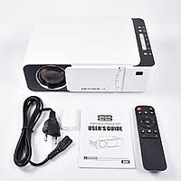 Проектор Everycom LED T5 WiFi 2600 люмен, домашний WiFi видеопроектор3