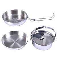 Набор посуды Tatonka (сковорода, кастрюля, миска), regular 4113.000
