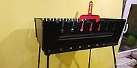 Раскладной мангал-чемодан 2мм 10 шампуров. От производителя.