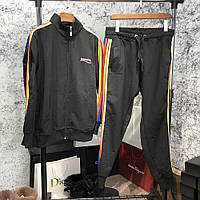 Спортивный костюм Balenciaga Sport Suit Rainbow Black