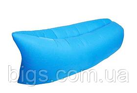Надувной диван голубой 4827