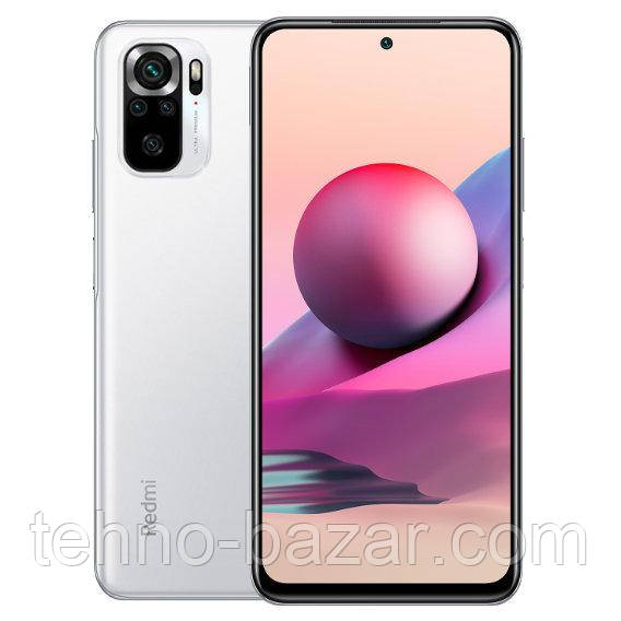 Смартфон Xiaomi Redmi Note 10S NFC 6/64 Gb White Global Version  MediaTek Helio G95 5000 мАч