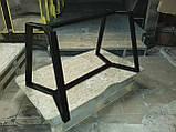 Каркас стола NORGE в скандинавском стиле под круглую столешницу d900mm из трубы 50х25, фото 3