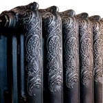 Чугунные радиаторы отопления Adarad Nostalgia 500. Дизайн радиаторы ретро.