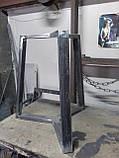 Каркас стола NORGE в скандинавском стиле под круглую столешницу d900mm из трубы 50х25, фото 2