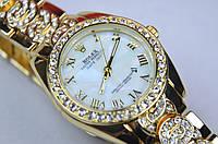 Женские часы Rolex Qyster Perpetual DateJust дата, фото 1