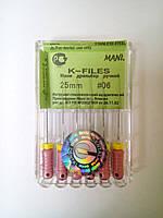 К-файлы № 06 25мм Мани (K-files MANI)