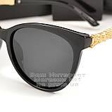 Женские солнцезащитные очки Chanel с поляризацией для водителей Поляризационные Шанель Брендовые реплика, фото 2