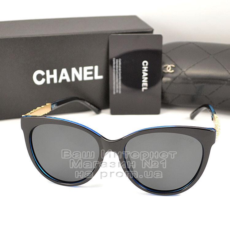 Жіночі сонцезахисні окуляри Chanel з поляризацією для водіїв Поляризаційні Шанель Брендові репліка