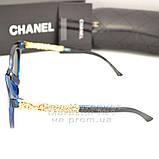 Жіночі сонцезахисні окуляри Chanel з поляризацією для водіїв Поляризаційні Шанель Брендові репліка, фото 3