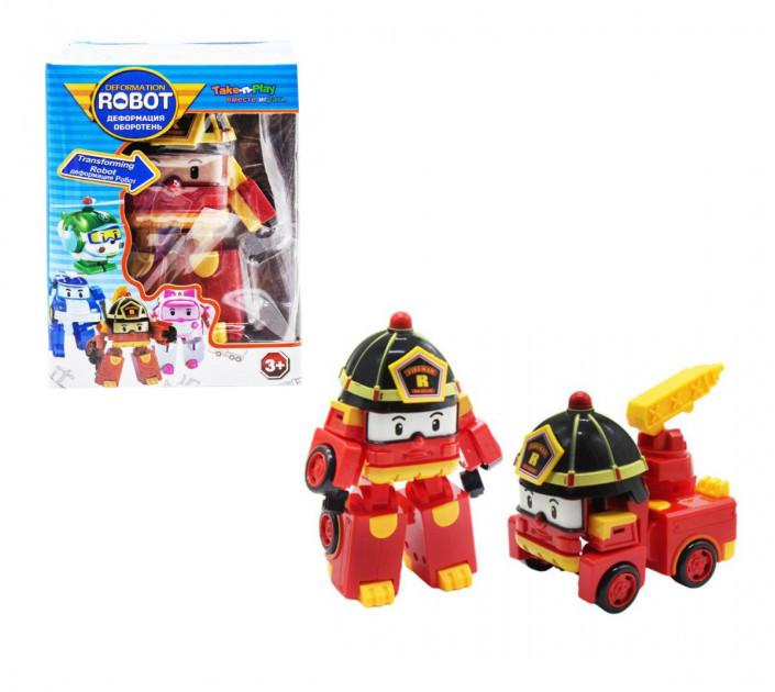 Трансформер Star Toys Робокар Рой  Robocar Roy 83608