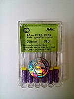 К-файли № 10 25мм Мані (K-files MANI)