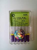 К-файлы № 10 25мм Мани (K-files MANI)