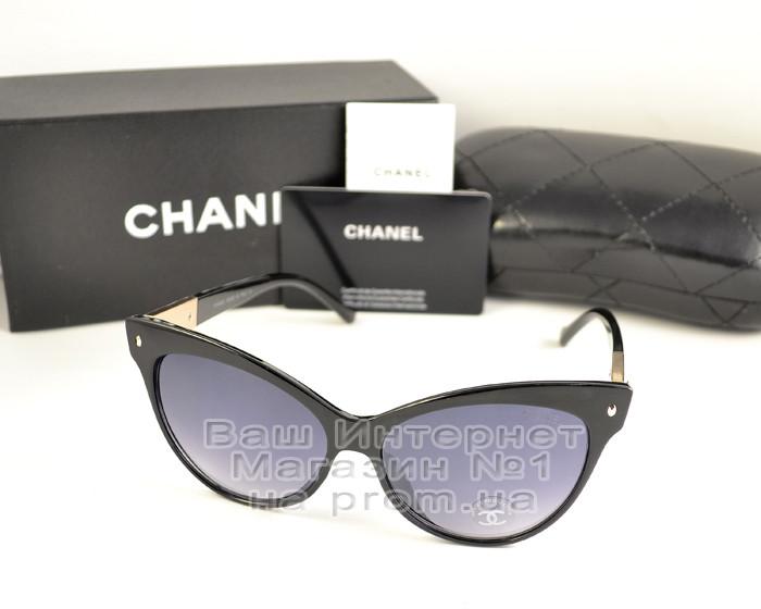 Женские солнцезащитные очки Chanel Кошачий глаз Модные 2021 Стильные Шанель Брендовые реплика