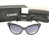 Женские солнцезащитные очки Chanel Кошачий глаз Модные 2021 Стильные Шанель Брендовые реплика, фото 5