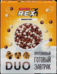 Готовый протеиновый завтрак Protein Rex DUO Шоколад (250 грамм)
