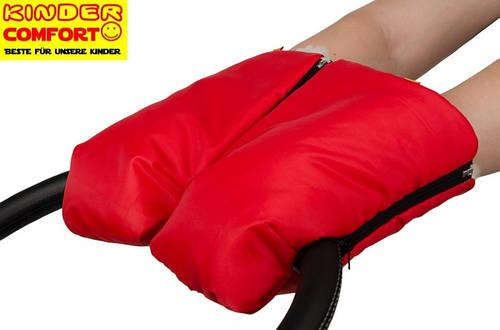 Муфта-трансформер для коляски и санок (Красный), Kinder Comfort