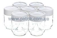 Набор баночек для йогуртницы Moulinex A14A03 (7шт.)